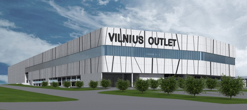 Mitnija awarded EUR 51 million order to build Vilnius Outlet